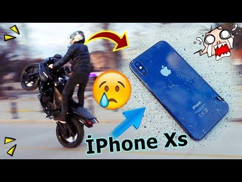 İPHONE XS CEBİMDEN DÜŞTÜ KIRILDI😱