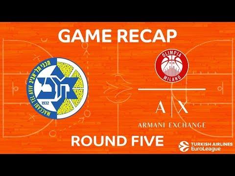 Highlights: Maccabi FOX Tel Aviv - AX Armani Exchange Olimpia Milan