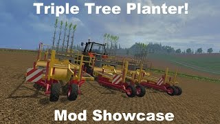 Farming Simulator 15 - Triple Tree Planter - Mod Showcase