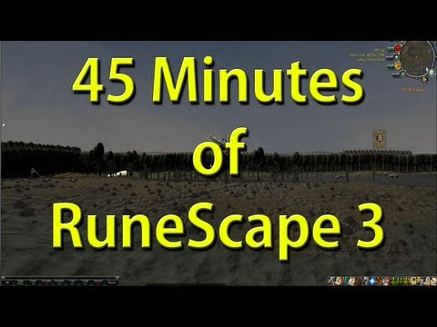 45 Minutes of Runescape 3 in 1080p