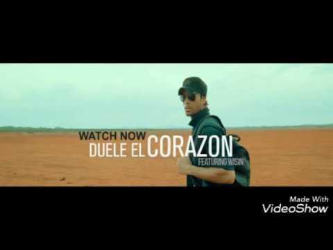 Download ENRIQUE IGLESIAS DUELE EL CARAZON 😻