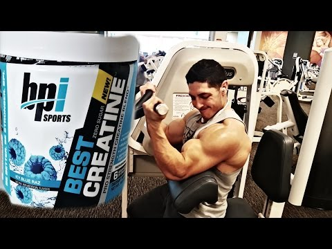 BPI Sports Creatine Review | Shoulders & Arms Workout