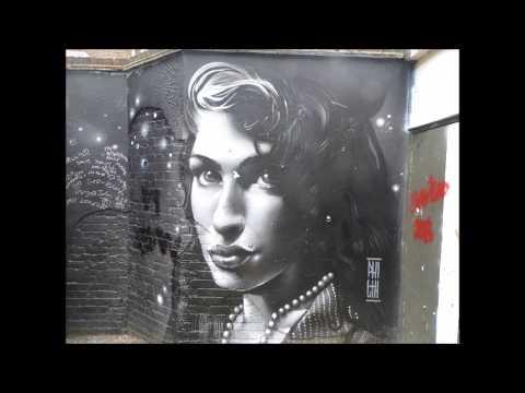 Amy Winehouse Street Art Tribute