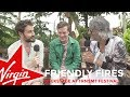 Friendly Fires backstage at TRNSMT 2018