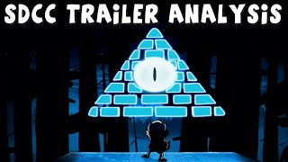 Gravity Falls: Season 2 SDCC Trailer - Analysis