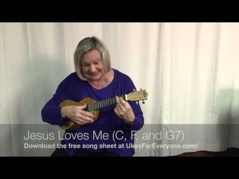 Jesus Loves Me (C, F and G7)