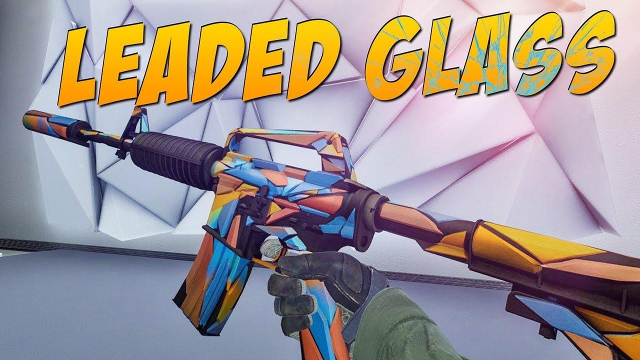 S Leaded Glass