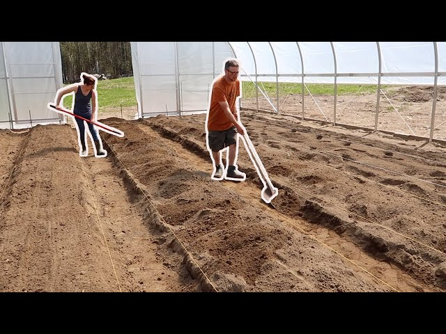 HUSBAND & WIFE Build an EPIC Garden to GROW their FOOD for a YEAR!