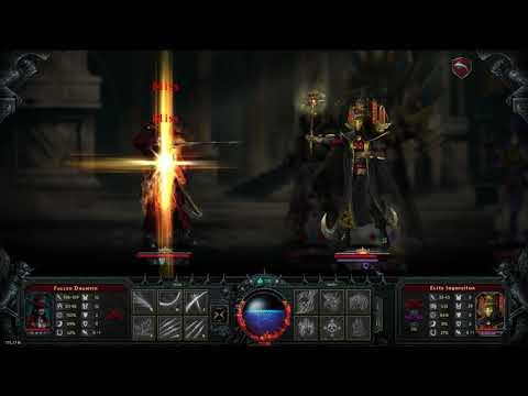 Iratus: Lord of the Dead - Fallen Dhampir solo BOSS Grand Magister |