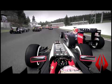 F1 2012 (FULL HD 1080P) - DAMAGE MOD - GROSJEAN'S FAULT