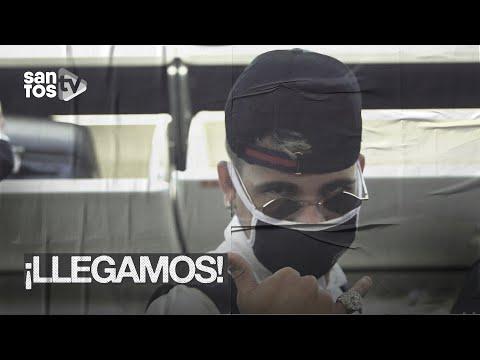 ELENCO DO #SANTOS CHEGA AO PARAGUAI