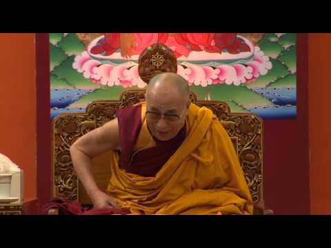 No self concept of Mahayana Buddhism explain by His Holiness the Dalai Lama