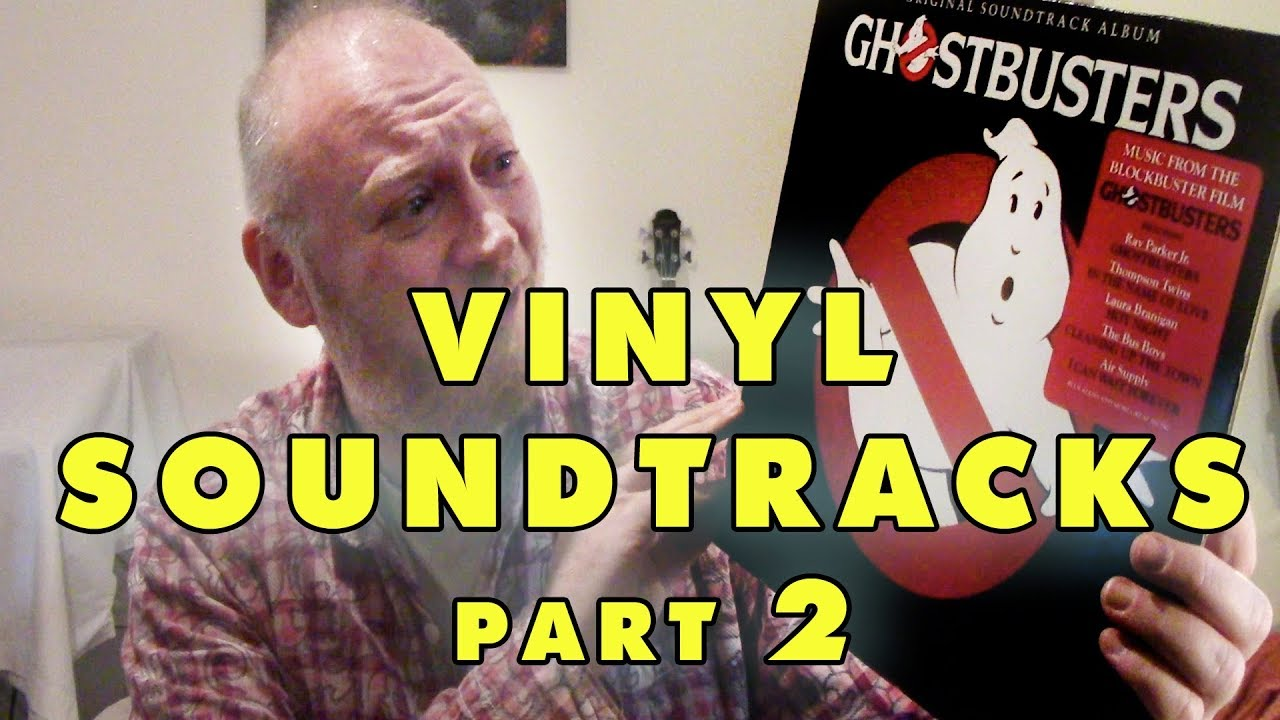 Vinyl Soundtrack Albums (part 2) Ghostbusters, Woodstock and Heavy Metal!