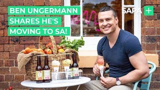 Ben Ungermann shares he's looking forward to moving to SA!