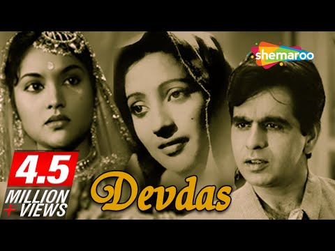 Original Devdas [1955] - Dilip Kumar Hit Movie - Vyjayanthimala, Suchitra Sen - Classic Hindi Movie