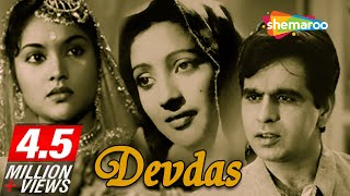 Original Devdas [1955] - Dilip Kumar Hit Movie - Vyjayanthimala, Suchitra Sen - Classic Hindi Movie