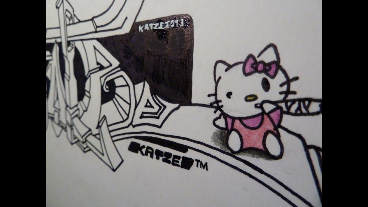 Gambar Grafiti 3d Doraemon