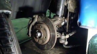 видео Замена ступицы - замена подшипника ступицы Peugeot (Пежо)
