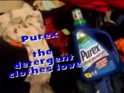 Purex Laundry Detergent Commercial Spoof