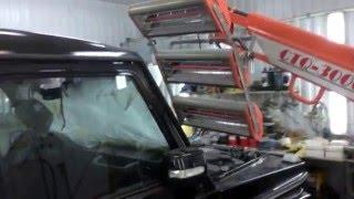 Мерседес Гелендваген g-class W463 AMG Покраска,Удаление коррозии,Реставрация переднего бампера.(Mercedes-Benz Gelendwagen (G-class) W463 AMG-покраска,кузовной ремонт,реставрация кузова. http://auto-pokrasim.ru В этом ролике представл..., 2016-01-28T20:32:25.000Z)