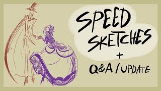 Speed Sketches+ Q&A/ Update thumbnail