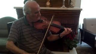 Violin Mahmoud Merati in Segah ویولن استاد محمود مرآتی در سه گاه