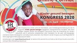 Begrüßung zum 5. Kinder gesund bewegen-Kongress im Online-Format