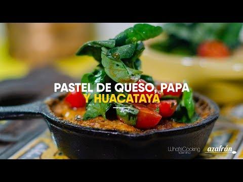Pastel de queso, papa y huacataya