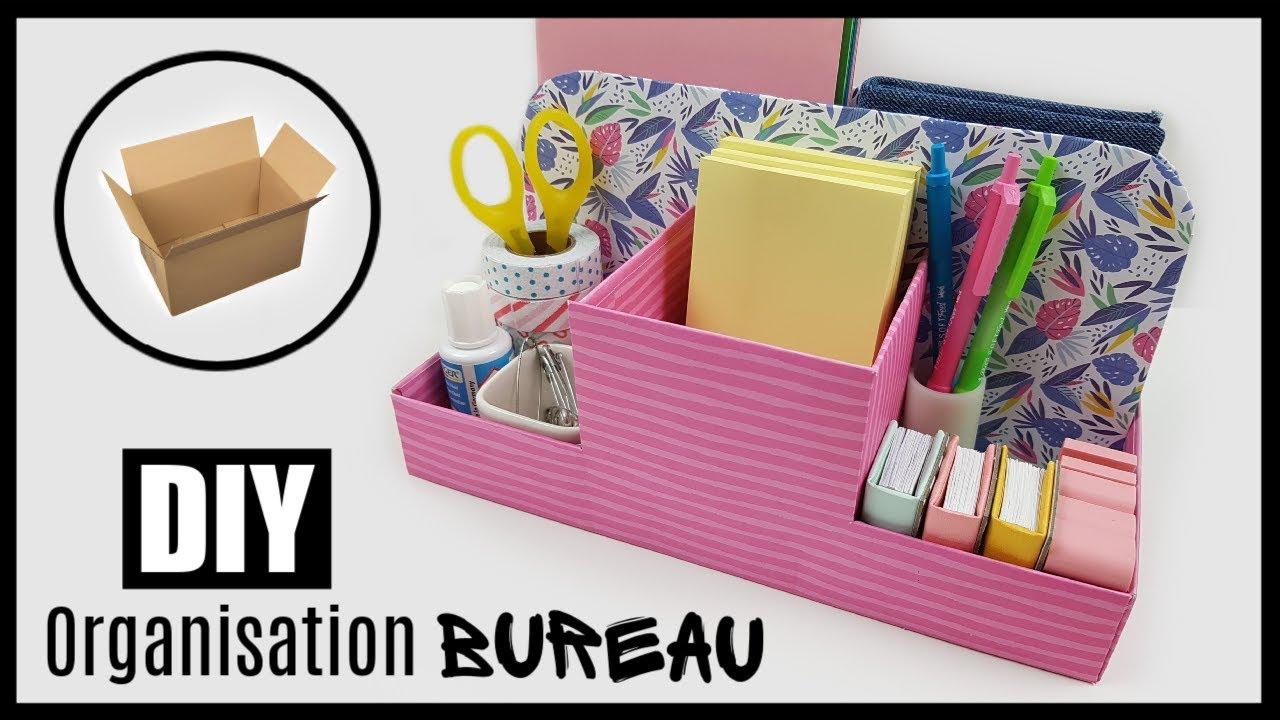 Diy Organisation Et Rangement Bureau Office Organization