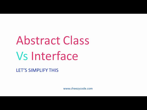 Abstract Class Vs Interface In C#