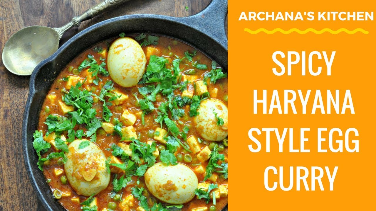 Spicy haryana style egg curry north indian recipes by archanas spicy haryana style egg curry north indian recipes by archanas kitchen forumfinder Images