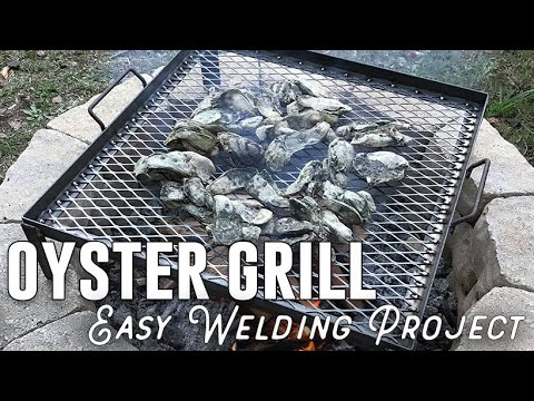 Building a Grill for an Oyster Roast - Easy DIY Welding Project