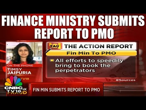 Finance Ministry Submits Report To PMO On PNB Fraud Investigation | CNBC TV18