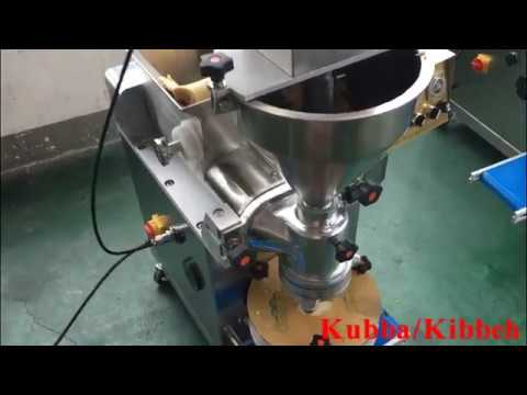 Small encrusting machine for kubba/kibbeh/coxinha/falafel/croquette/mochi/date ball/filled cookies
