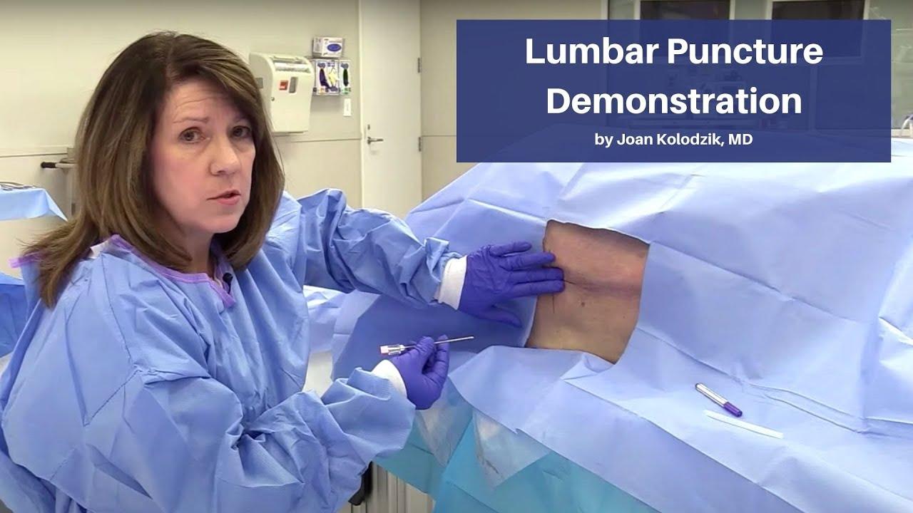 Download Lumbar Puncture Demonstration   The Cadaver-Based EM Procedures Online Course
