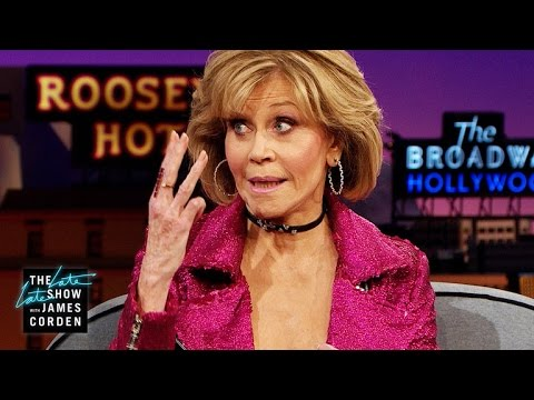 Download Youtube: Jane Fonda Kind of Remembers Drinking Dolly Parton's Moonshine