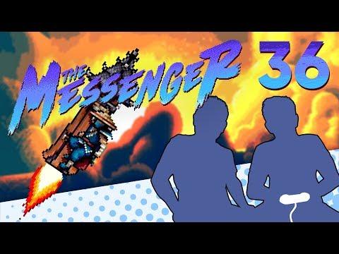 The Messenger - PART 36 - ROCKETMAN - Let's Game It Out (Forlorn Temple 8-bit & 16-bit) |