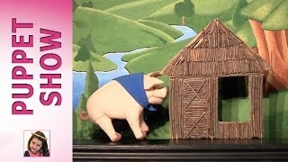 The Three Little Pigs-Puppet Show by Rosie