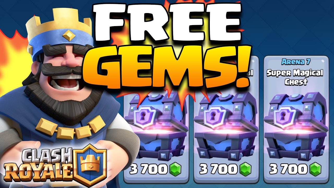 "Get FREE UNLIMITED GEMS FAST in Clash Royale ""January 2017"" (No Hack ..."