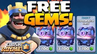 "How To Get FREE UNLIMITED GEMS FAST In Clash Royale ""January 2017"" (No Hack/Cheat IOS Android)"