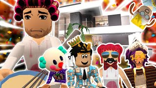 BLOXBURG MOTHER OF 4 KIDS THANKSGIVING SPECIAL... it was chaos (Roblox Roleplay)