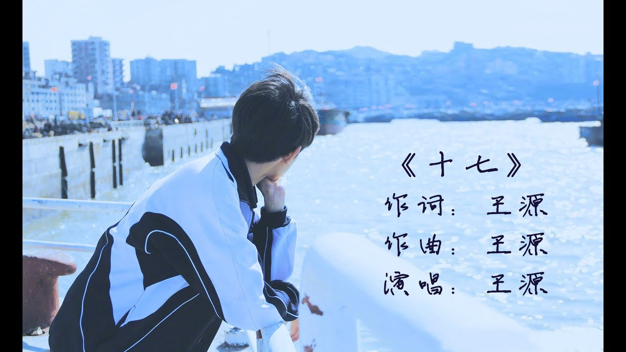 【TFBOYS王源 Roy】全新原创单曲《17》MV歌词版 首发【KarRoy凯源频道】