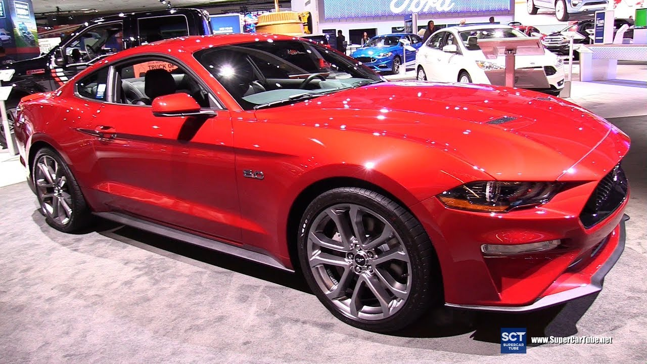 2018 ford mustang gt premium exterior and interior walkaround 2017 la auto show youtube. Black Bedroom Furniture Sets. Home Design Ideas