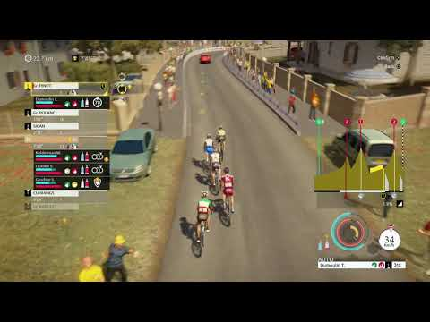 Tour de France 2018 PS4 - Stage 16 - DAMN YOU ARU!!!!!!!!!