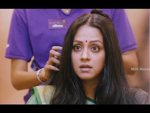 Jyothika Dying Her Hair Comedy - 36 Vayadhinile (2015) Tamil Movie Scenes