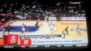 Sports Nation Top 20 Dunk Faces This Season 2011