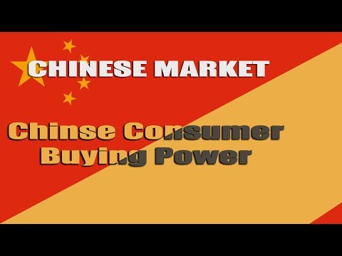 China Market: Buying Power Of Chinese Consumer World Wide