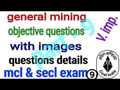 #miningexam Objective general mining questions with details | overman, sirdar | mining mcq  | part 9