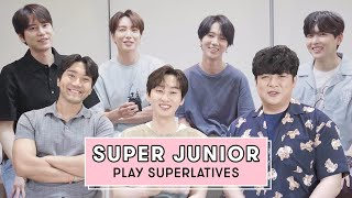 Download SUPER JUNIOR Reveals Who Has the Best Smile, the Most Aegyo and More | Superlatives | Seventeen