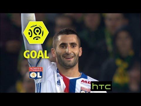 Goal Maxime GONALONS (42') / FC Nantes - Olympique Lyonnais (0-6)/ 2016-17